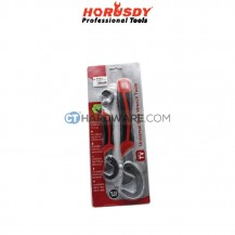Horusdy SDY6010 Multifunctional Universal Quick Snap 'N Grip Adjustable Wrench Spanner Tool 2pcs