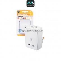 Masterplug Travel Adaptor With USB Charger(USA,CHINA,AUSTRALIA)13Amp