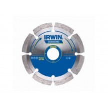 Irwin TDD105 Diamond Disc Dry Segemented 105mm X 20mm Bore