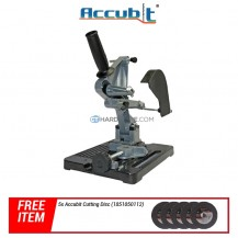 "Accubit TZ6103 Grinder Stand for Angle Grinder 4"" and 5"""