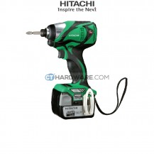 Hitachi WH14DBAL2 14.4V Cordless Impact Driver with Brushless Motor