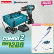 MAKITA SPECIAL COMBO PACKAGE OFFER - HOME KIT COMBO 2 [HP333DNX10 + DCL181FZWX]